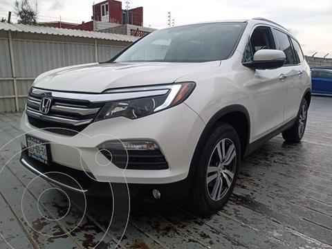 Honda Pilot Touring usado (2017) color Blanco precio $525,000