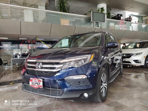 Honda Pilot Touring usado (2017) color Azul Acero precio $527,000