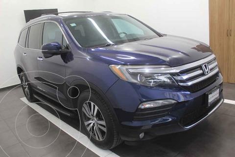 Honda Pilot Touring SE usado (2016) color Azul precio $399,000