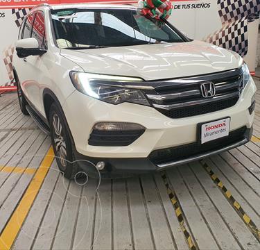 Honda Pilot Touring usado (2016) color Blanco Diamante financiado en mensualidades(enganche $222,500 mensualidades desde $6,331)