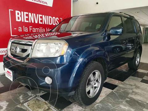 Honda Pilot EXL usado (2011) color Azul precio $259,000