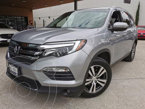 Honda Pilot Touring usado (2016) color Plata Lunar precio $450,000