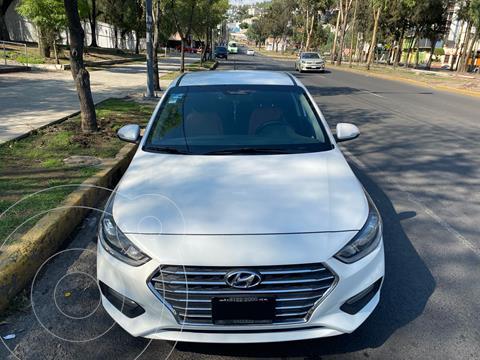 Hyundai Accent Sedan GLS Aut usado (2018) color Blanco precio $230,000