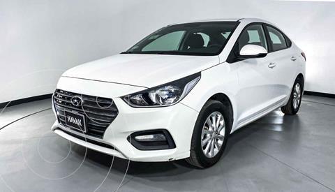 Hyundai Accent Sedan GL Mid usado (2018) color Blanco precio $199,999
