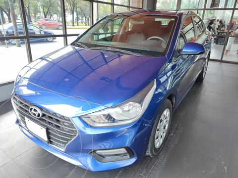 Hyundai Accent Sedan GL usado (2019) color Azul precio $210,000