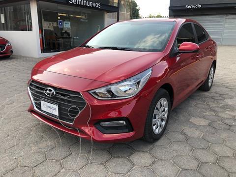 Hyundai Accent Sedan GL usado (2020) color Rojo precio $215,000