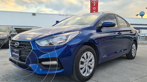 Hyundai Accent Sedan GL usado (2020) color Azul precio $249,000