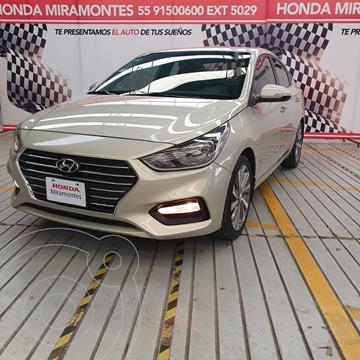 Hyundai Accent Sedan GLS Aut usado (2018) color Champagne precio $240,000