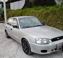 Hyundai Accent 1.4L Ac usado (2002) color Plata precio u$s4.800