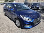 Foto venta Auto usado Hyundai Accent ACCENT 4DR 1.6L GL  MT (2018) color Azul precio $190,000