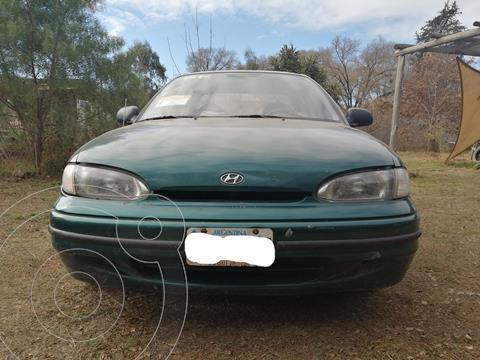 Hyundai Accent GLS 4P Aa usado (1996) color Verde precio $350.000