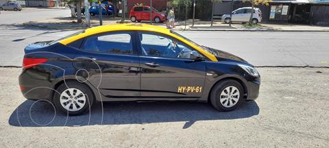 Hyundai Accent 1.6L GL Ac Taxi Diesel usado (2016) color Negro precio $11.500.000