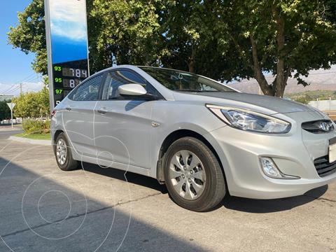 Hyundai Accent 1.4L GL Full usado (2016) color Plata precio $7.800.000