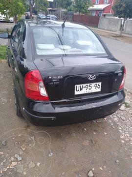 Hyundai Accent 1.5 GL Diesel  usado (2007) color Negro precio $2.650.000