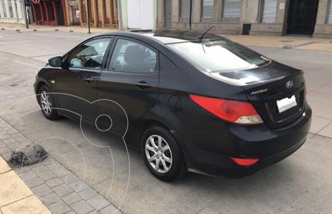 Hyundai Accent 1.6 GL Diesel Base Ac usado (2014) color Negro precio $6.000.000
