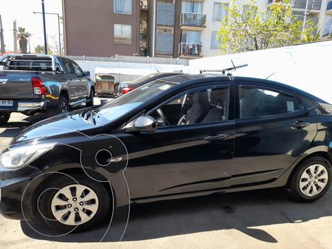 Hyundai Accent 1.6L GL Ac Taxi Diesel usado (2018) color Negro precio $17.500.000