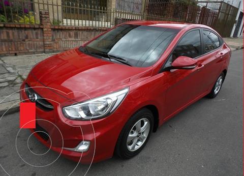 Hyundai Accent 1.6 GL  usado (2016) color Rojo precio $7.500.000