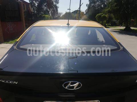Hyundai Accent 1.6 GL  usado (2014) color Negro precio $12.000.000