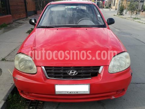 Hyundai Accent 1.5 GL  usado (2005) color Rojo precio $2.100.000