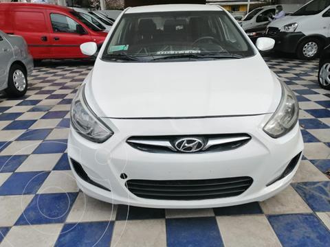 Hyundai Accent 1.4 GL Ac usado (2017) color Blanco precio $9.690.000