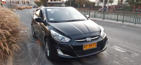 Hyundai Accent 1.4 GL usado (2016) color Negro precio $12.150.000