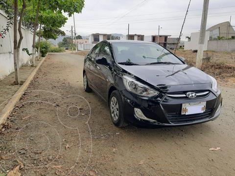 Hyundai Accent 1.6 Ac usado (2018) color Negro precio u$s16.500