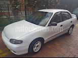 Foto venta Carro usado Hyundai Accent GL 1350 cc (1998) color Blanco precio $7.800.000