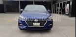 Foto venta Auto usado Hyundai Accent GL (2018) color Azul precio $187,900