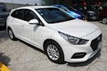 Foto venta Auto usado Hyundai Accent HB GL Mid (2018) color Blanco precio $225,000