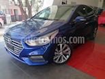 Foto venta Auto usado Hyundai Accent HB GLS Aut (2018) color Azul precio $265,000