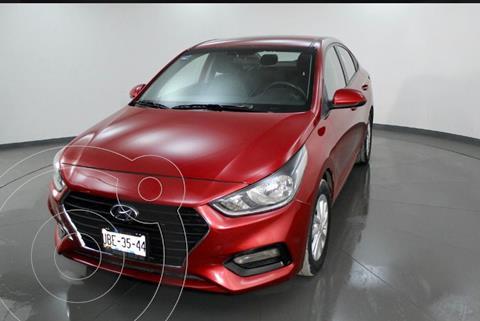 Hyundai Accent GL Mid Aut usado (2018) color Rojo precio $209,000