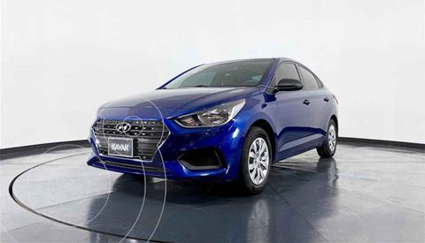 Hyundai Accent GL usado (2018) color Azul precio $199,999