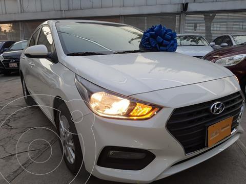 Hyundai Accent HB GL Mid Aut usado (2020) color Blanco precio $234,000