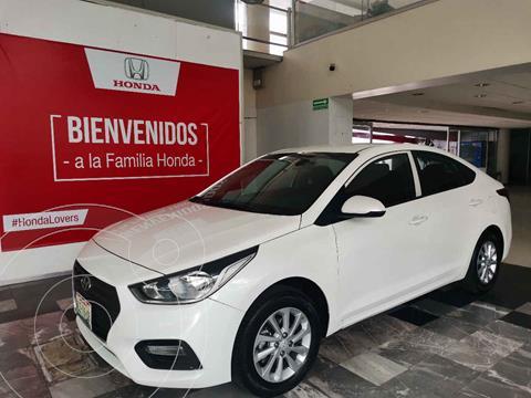 Hyundai Accent GL Mid usado (2018) color Blanco precio $193,000