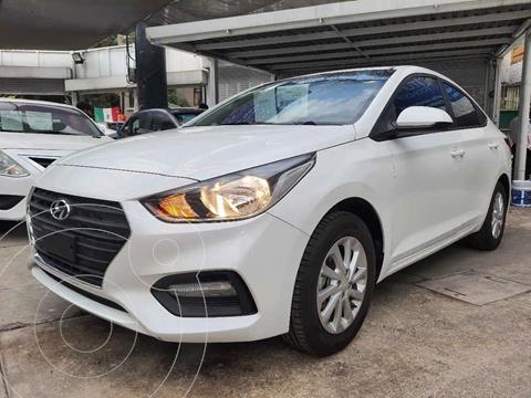 Hyundai Accent HB GL Mid usado (2021) color Blanco precio $234,000