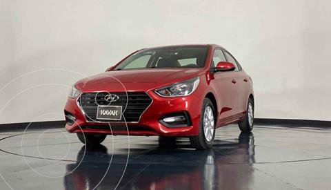 Hyundai Accent GL Mid usado (2018) color Rojo precio $219,999