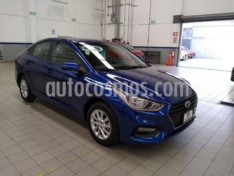 Hyundai Accent Sedan GL Mid usado (2019) color Azul Acero precio $205,000