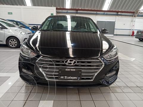 Hyundai Accent GLS Aut usado (2018) color Negro precio $229,100