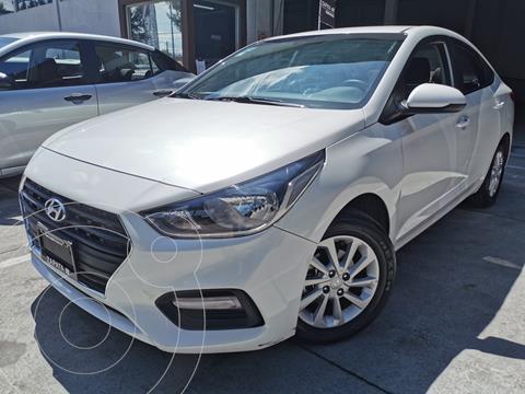 Hyundai Accent HB GL Mid usado (2020) color Blanco precio $262,000