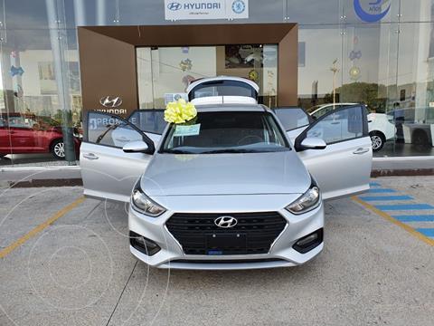 Hyundai Accent HB GL Mid usado (2019) color Plata Dorado precio $215,000