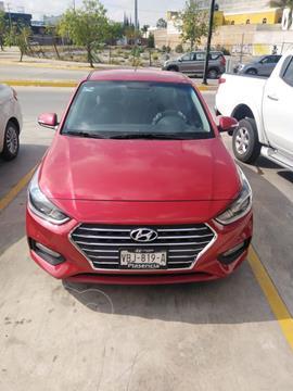 Hyundai Accent GLS Aut usado (2019) color Rojo precio $230,000