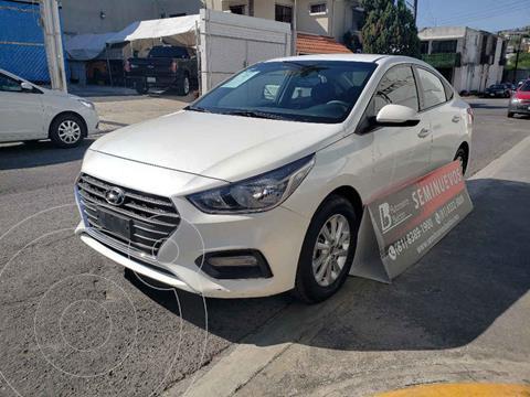 Hyundai Accent GL Mid usado (2018) color Blanco precio $194,000
