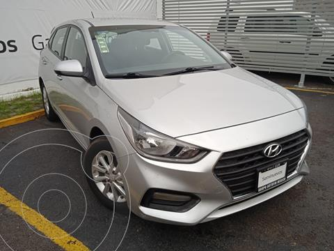 Hyundai Accent HB GL Mid usado (2019) color Plata precio $199,000