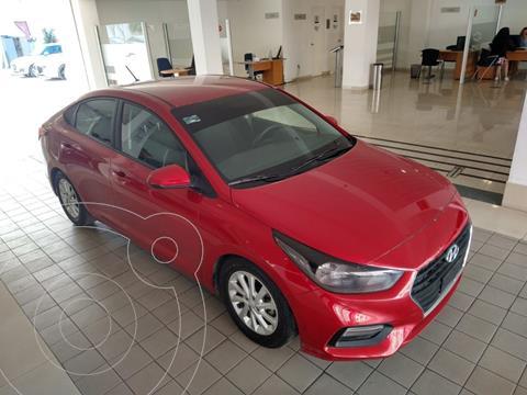 Hyundai Accent HB GL Mid Aut usado (2020) color Rojo precio $224,500