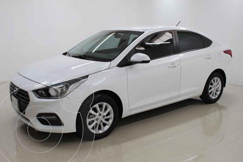 Hyundai Accent GL Mid Aut usado (2018) color Blanco precio $198,000
