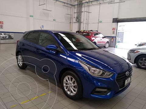 Hyundai Accent HB GL Mid usado (2018) color Azul Acero precio $205,000