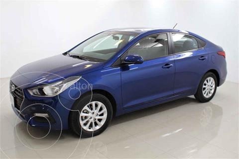 Hyundai Accent GL Mid Aut usado (2020) color Azul precio $245,000