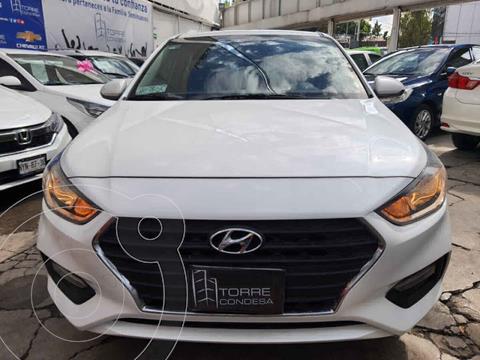 Hyundai Accent GL usado (2018) color Blanco precio $214,500