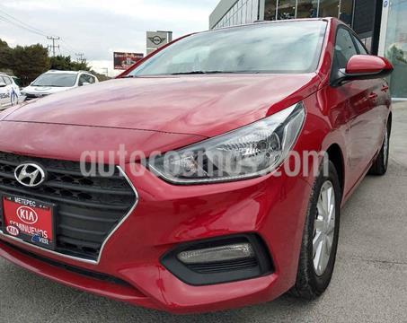 Hyundai Accent Sedan GL Mid usado (2020) color Rojo precio $239,900