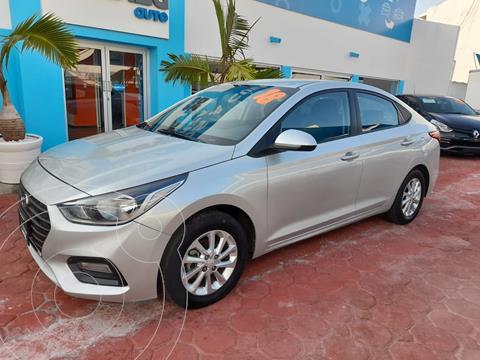 Hyundai Accent HB GL Mid Aut usado (2018) color Plata Dorado precio $205,000